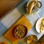 Almejas en salsa de ajetes