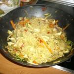Noodles en wok