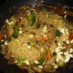 Noodles a la currysoja y citrón