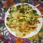 Patatas y brócoli