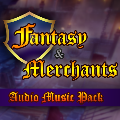 Fantasy & Merchants Music Audio Pack